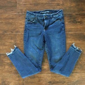 Old Navy  mid rise rockstar jeans 👖 8 regular